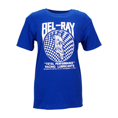 Bel-Ray Retro T-Shirt - Blue