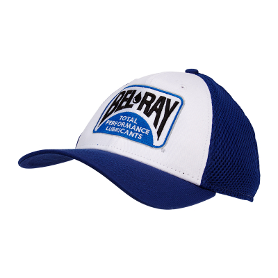 Bel-Ray 9FORTY Adjust Hat - White/Blue