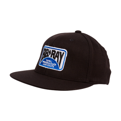 Bel-Ray Flat Brim Hat - Black - L/XL