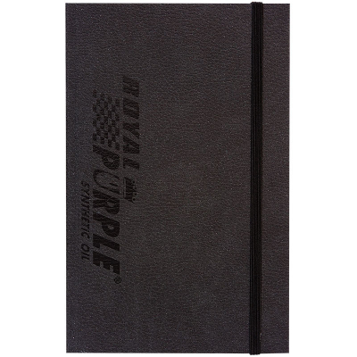 Royal Purple Hard Cover Notebook