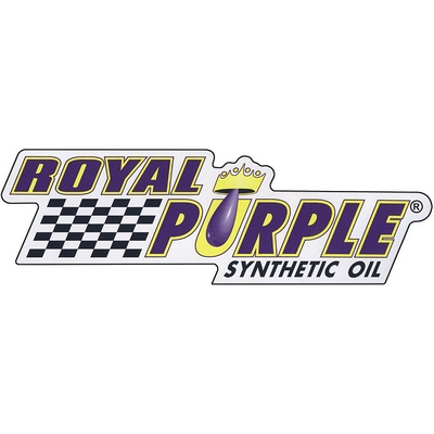 Royal Purple Decal - White Vinyl - 6