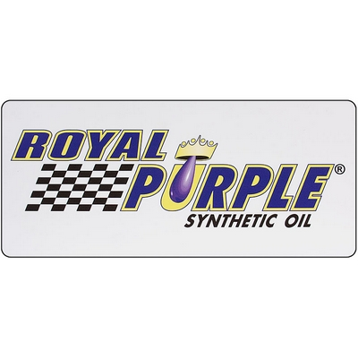 Royal Purple Car Magnet