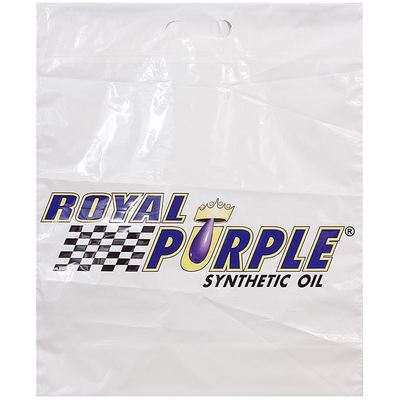 Royal Purple Plastic Bag